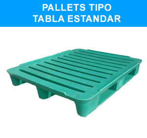 Pallets tipo Tabla Estandard