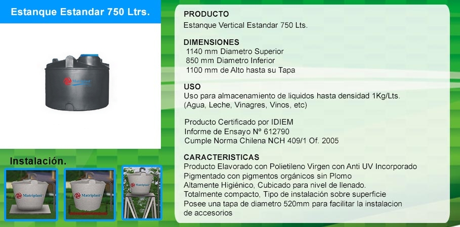 Mp venta de estanques para agua de pl stico for Estanques de agua baratos
