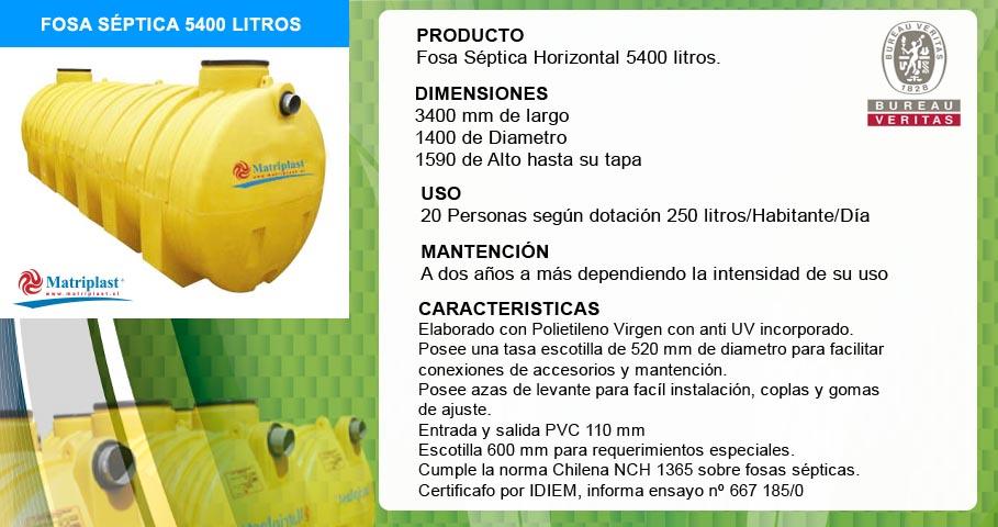Mp venta de fosas s pticas horizontales santiago - Productos para fosas septicas ...