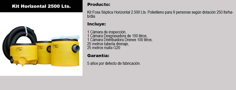 Mp venta de kit para fosas s pticas santiago chile - Productos para fosas septicas ...